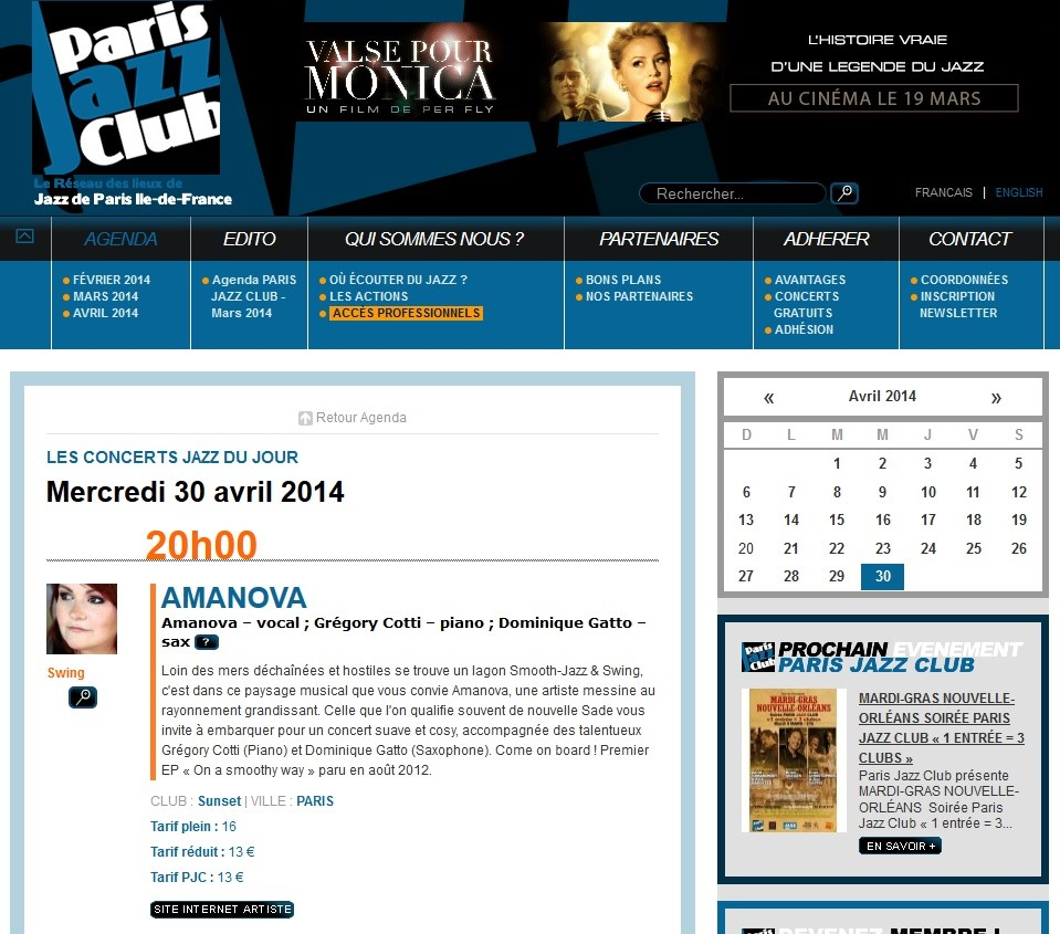 2014-02-28 PARIS JAZZ CLUB